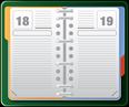 Grafik eines Kalenders wegen Bedeutung eines Pflegetagebuchs bei der Huntington-Krankheit