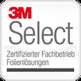 Logo 3M select partner Fachbetrieb für Folienlösungen