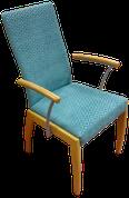 Armlehnstuhl gepolstert von unseren Meister aus der Schumann Polsterei
