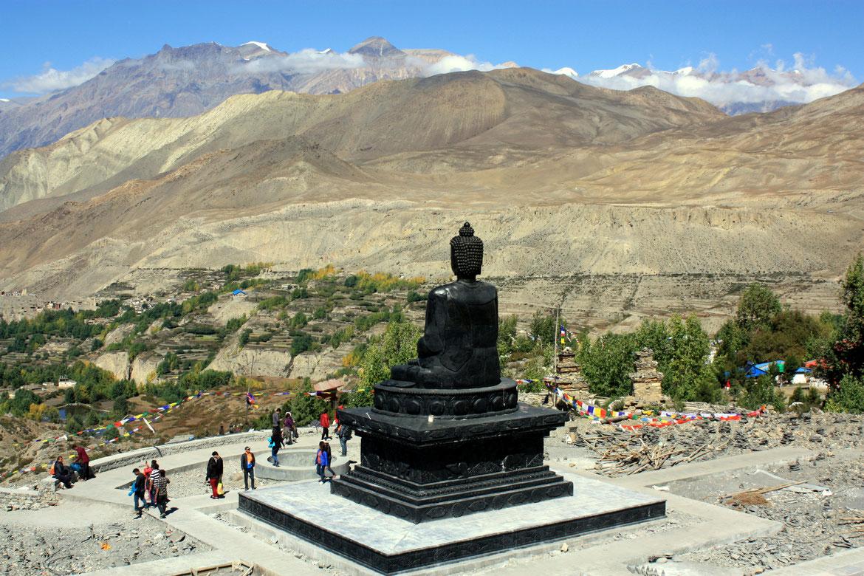 Haut lieu de pèlerinage à Muktinath