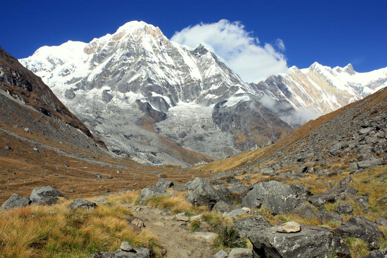 Sanctuaire des Annapurnas (4 130 m)