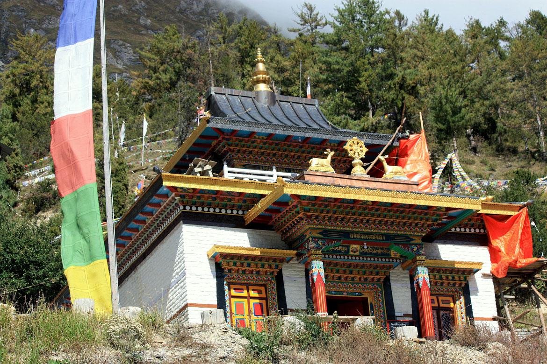 Monastère bouddhiste d'Upper Pisang (3320 m)