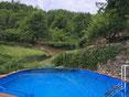 Ab April 2017 bieten wir unseren Gästen diesen wundervollen Pool.