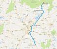 Strecke: 3. Tag (Google Maps)