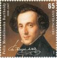 Mendelsohn Briefmarke 2009