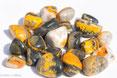 Jaspe Bubble pierre gemme, Pierres de Lumière Saint Rémy de Provence, pierre roulée, pierre brute, galet, lithothérapie, vertus, propriétés, ésotérisme