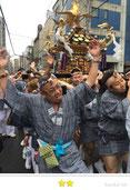 弾正睦さん: 三社祭