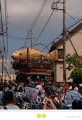 門前人さん:本宿八坂神社祇園祭(佐原の大祭)