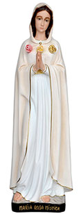 Our Lady of Rosa Mystica statue cm. 95