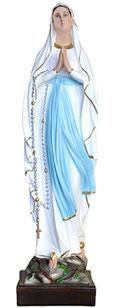 Our Lady of Lourdes statue cm. 87