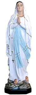 Our Lady of Lourdes statue cm. 107