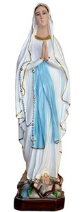 Our Lady of Lourdes statue cm. 73