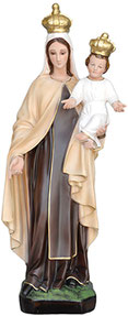 Our Lady of Mount Carmel statue cm. 60