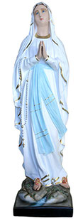 Our Lady of Lourdes statue cm. 156