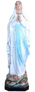 Our Lady of Lourdes statue cm. 183
