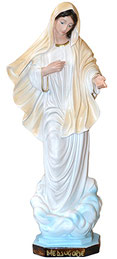 Our Lady of Medjugorje statue cm. 30