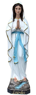 Our Lady of Lourdes statue cm. 57