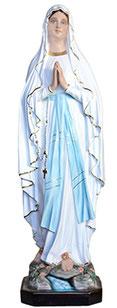 Our Lady of Lourdes statue cm. 127