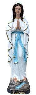 Our Lady of Lourdes statue cm. 57