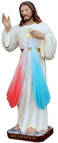 Jesus divine mercy statue cm. 40