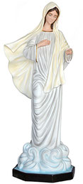 Our Lady of Medjugorje statue cm. 160