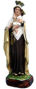 Our Lady of Mount Carmel statue cm. 25