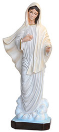 Our Lady of Medjugorje statue cm. 80