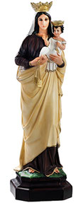 Our Lady of Mount Carmel statue cm. 83