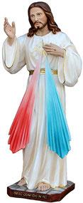 Jesus divine mercy statue cm. 50