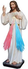 Jesus divine mercy statue cm. 180
