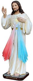 Jesus divine mercy statue cm. 60