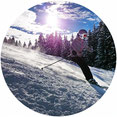 Urlaub im Harz, Skifahrer
