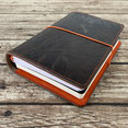 Leder Cover in Travellers Notebook Style