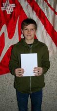 Justin Freiburghaus - 33. Rang Schweizermeisterschaft Junioren KUTU + Aufnahme CH-Jugendkader