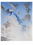 Peter Albach, Sommernachtstraum, Malerei, Fantasy, surreal, traum, Glück, Midsummer night's dream, painting, fantasy, surreal, dream, happiness, sunriseSonnenaufgang Sueño de una noche de verano, pintura, fantasía, surrealista, sueño, felicidad,