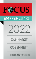 FOCUS Siegel Zahnarzt Rosenheim