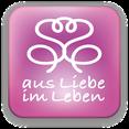 """Bild: Logo der Bewusstseinsmarke """"aus Liebe im Leben © Susanne Barth"""