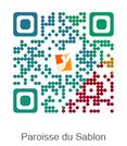 QR Code Paroisse du Sabon