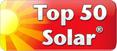 Top 50 Solar logo | SMART cs is Top 50 Solar partner