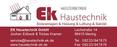 EK Haustechnik Sanitär