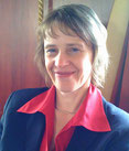 Margit Grab-Heider, Hartenfels, Vorstands-Sekretärin.