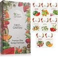 Obst Samen Set Premium Garten Obst Saatgut mit 8 Sorten Obst Pflanzen für Garten und Balkon –
