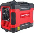 Matrix Inverter Stromgenerator Benzin leise, 4 takt, 2000 Watt, für Camping und Garage