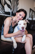 Marika Meeks Stella the Pit Bull Incredibull Stella Cure Magazine Stephanie Bouchard Kat Ku Modern Pet Photos
