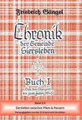 """Chronik von Siersleben Buch I Band II: """"Siersleben zwischen Piken und Panzern"""" (Rotbuch)"""