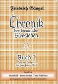 """Chronik von Siersleben Buch I Band i: """"Mansfeld-Ferne Zeiten Tiefe Schächte"""" (Kupferbuch)"""