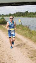 Thomas Sprung souverän wie immer auf der Laufstrecke