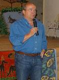 Patrick Baudry, lors de notre fête africaine en 2008