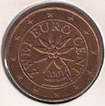 MONEDA AUSTRIA - KM 3083 - 2 CÉNTIMOS DE EURO - 2.007 - ACERO - COBRE (SC-/UNC-) 0,90€.