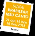 Brasilear Meu Canto, un stage avec Caroline Faber et Lanna Zita